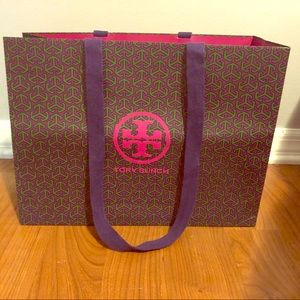 Tory Burch large gift bag
